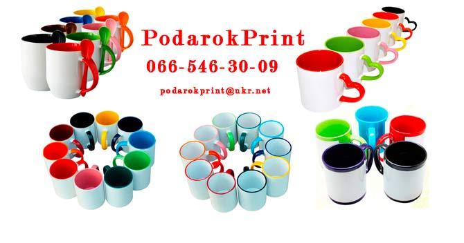 сублимационная печать на кружках на заказ
