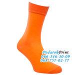 Длинные носки с принтом фото