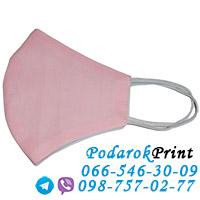 заказать маску на лицо розовая